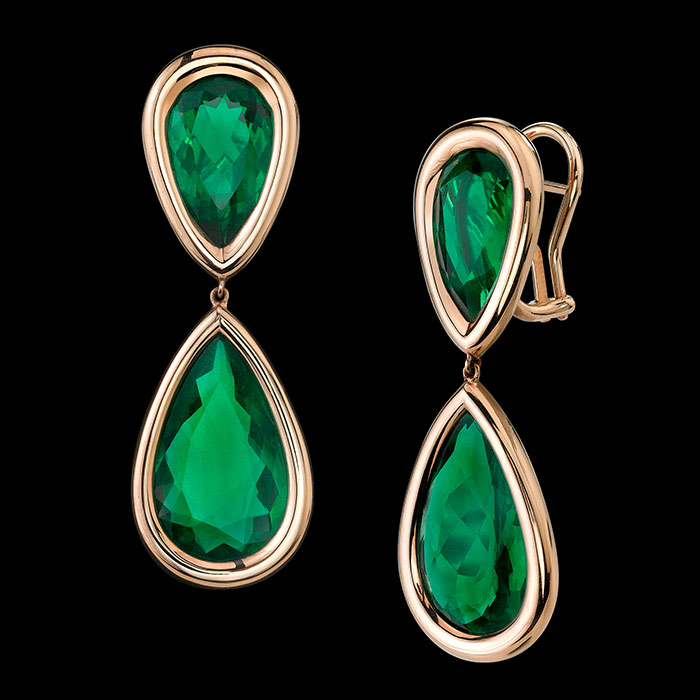 Emerald-and-Gold-Earrings-by-Robert-Procop