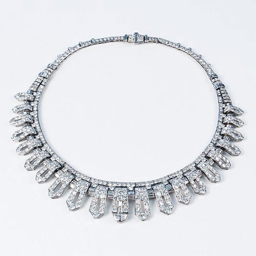 Belle-Époque-Platinum-Onyx-&-Diamond-&-Natural-Pearl-Tiara---Paul-Fisher